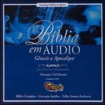CD Bíblia em Áudio com Narração de CID Moreira, Gênesis a Apocalipse